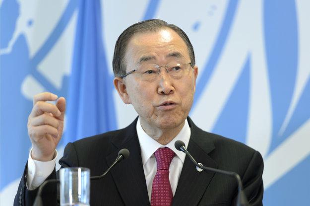 Genrálny tajomník OSN Pan Ki-mun.
