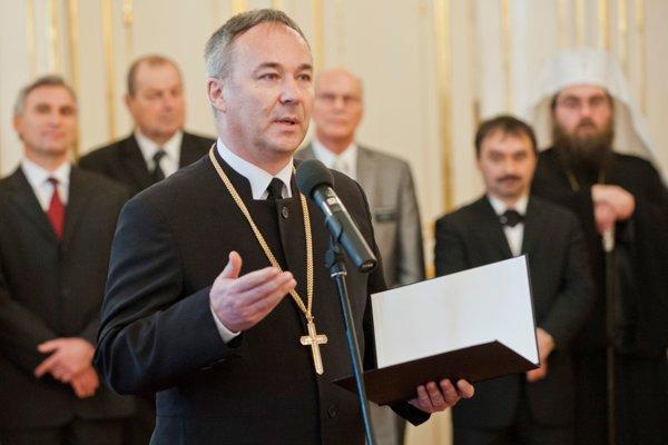Generálny biskup ECAV na Slovensku Miloš Klátik.