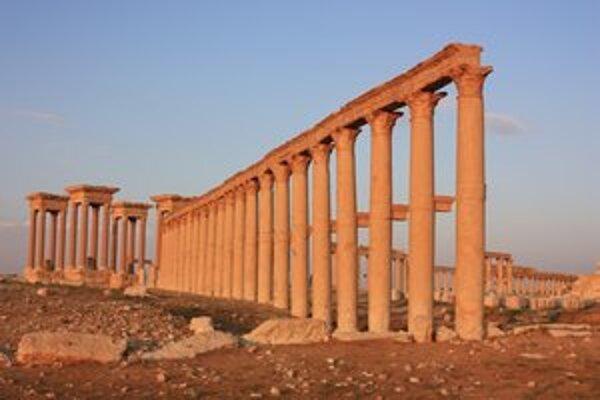Palmýra bola v staroveku veľkomestom.