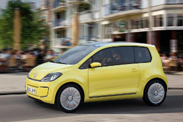 Sérioví členovia rodiny New Small Family budú vychádzať zo štúdie Volkswagen Up. Na fotografii je jej elektrická verzia E-Up.