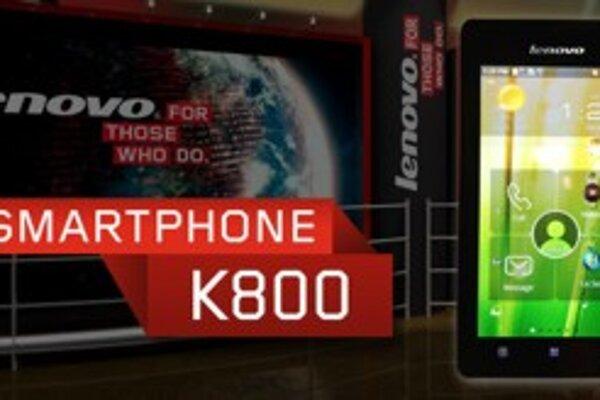 Prvý smartfón s procesorom Intel Atom bude od spoločnosti Lenovo.