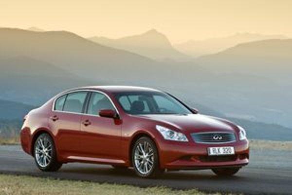 Modely Infiniti majú svojský dizajn aj filozofiu. Z modelovej ponuky nás zaujal športový sedan G37.