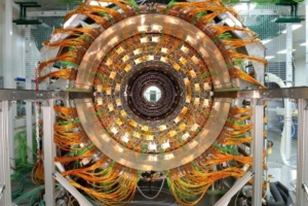 Časť detektora Atlas.
