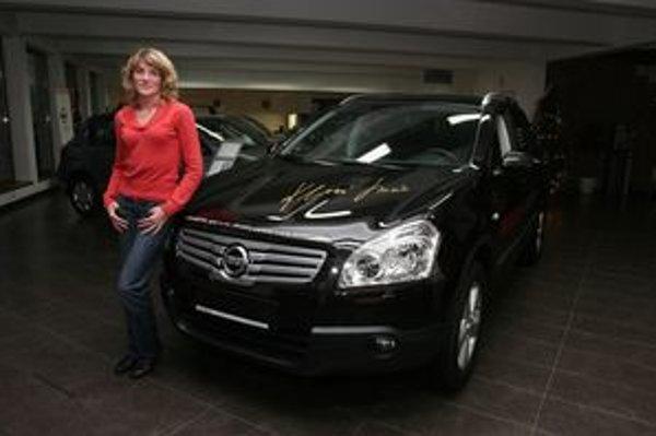 Lucia Klocová a jej novučičký Nissan Qashqai+2