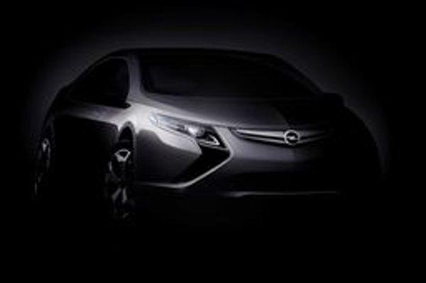 Opel predstaví Amperu  o mesiac v Ženeve