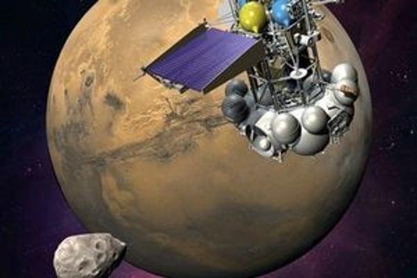 Sonda Phobos-Grunt.