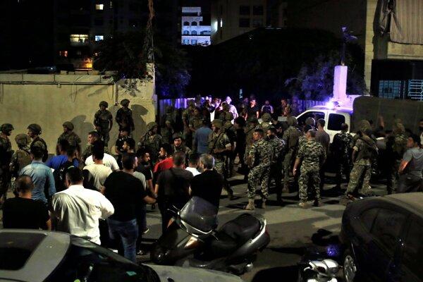 Údajný izraelský dron sa zrútil v južnej časti Bejrútu, ktorý je baštou hnutia Hizballáh.