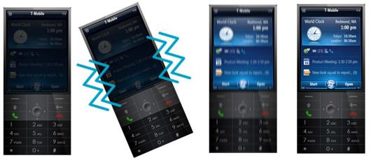 aktivácia telefónu z režimu spánku