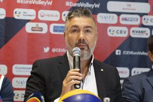 Prezident Slovenskej volejbalovej federácie Martin Kraščenič.