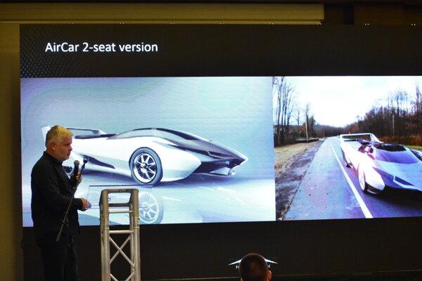 Štefan Klein, vynálezca lietajúceho auta.