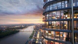 Eurovea Tower môžu začať stavať. Mrakodrap dostal zelenú