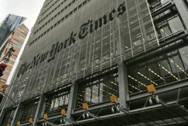 Za články na webe New York Times sa bude platiť.