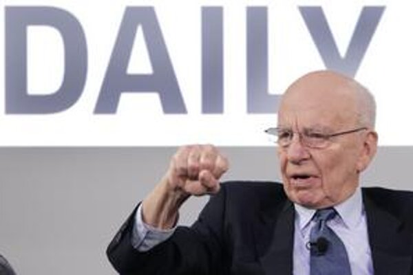 Murdoch verí na iPad. Vymyslel mu noviny Daily.