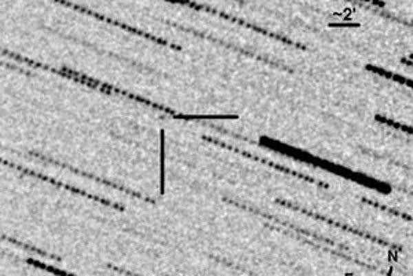 Asteroid 2011 CQ1.
