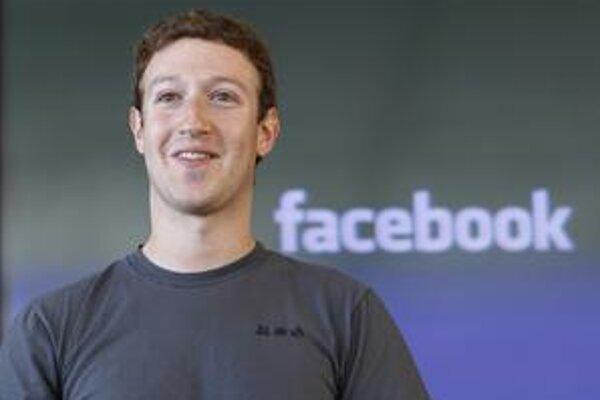 Mark Zuckerberg, prezident Facebooku.