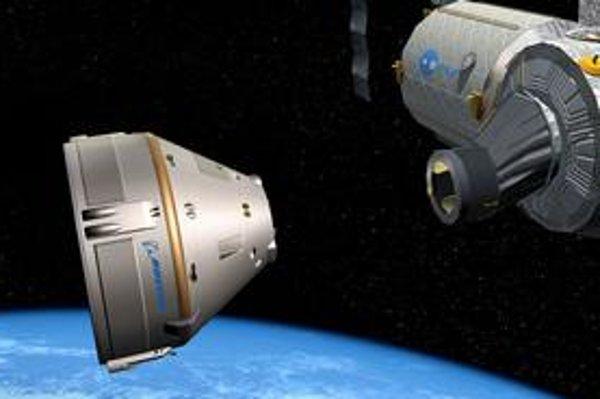 Päť rokov. Toľko odhaduje americká firma, ktorá vyvíja súkromnú vesmírnu loď CST-100. Miesto sľubuje aj turistom.