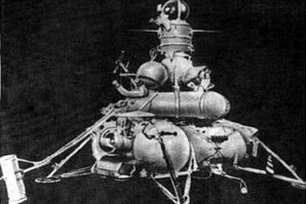 Sonda Luna 16 mesačnú pôdu priviezla.