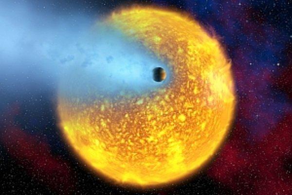 Supervietor dosahuje na exoplanéte rýchlosť až sedemtisíc kilometrov za hodinu.