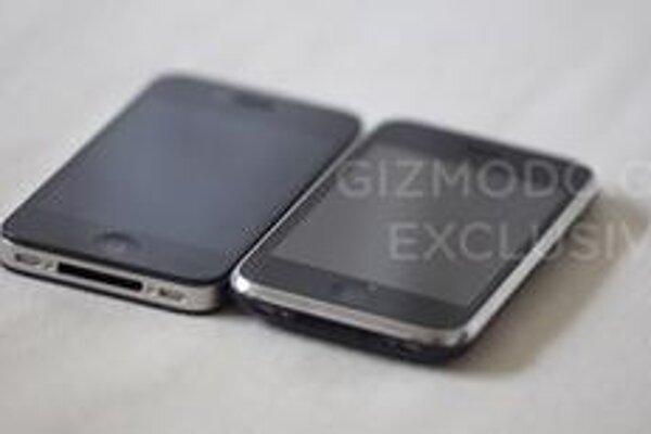 Porovnanie novej (vľavo) a starej verzie iPhone