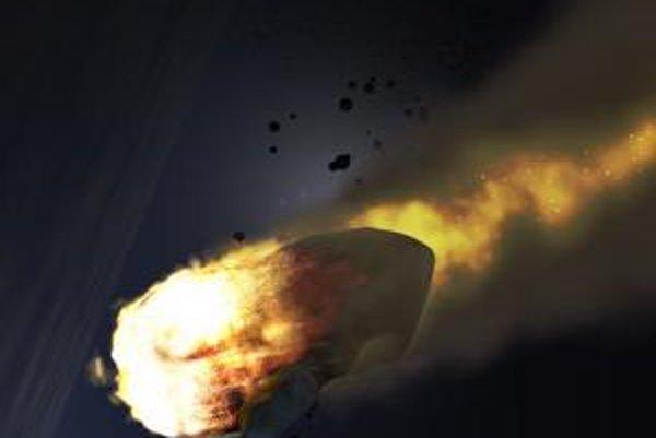 Dopad veľkého asteroidu by spôsobil katastrofu.