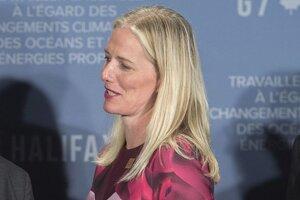 Kanadská ministerka životného prostredia Catherine McKennaová.