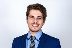Florián Danko (31), učiteľ elektrotechniky a odborných predmetov na Strednej odbornej škole informačných technológií v Bratislave.