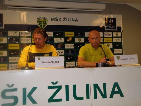 keď je treba, tréner mšk sa vie vynájsť aj so slovenčinou. ako sám priznal, ovláda iba futbalové výrazy.