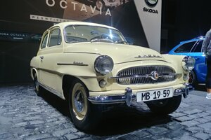 Autosalón Frankfurt 2019 - Historická Škoda Octavia