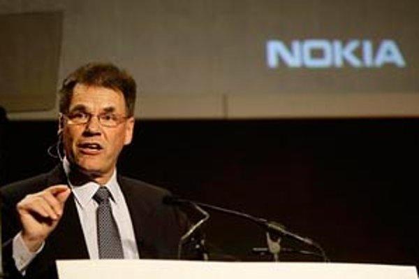Výkonný šéf Nokia Corp. Olli-Pekka Kallasvuo