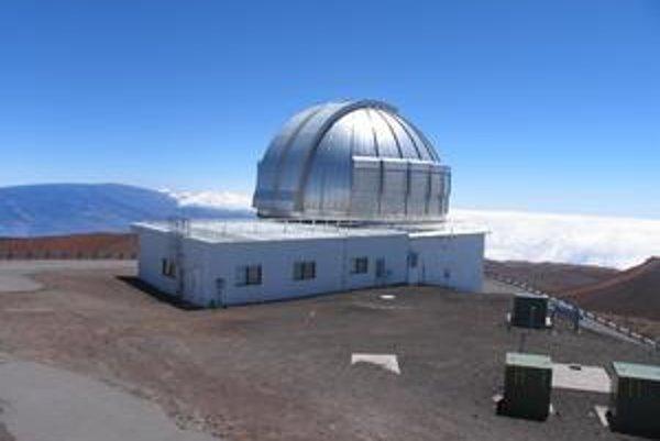 Ďalekohľad UKIRT v observatóriu Mauna Kea.
