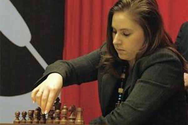 Judit Polgárová, najlepšia šachistka sveta.