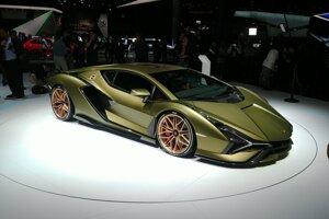 Autosalón Frankfurt 2019 - Lamborghini Sián