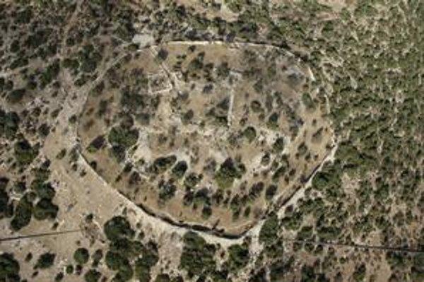 Archeologická lokalita Elah, kde našli črep s textom z čias Dávida.