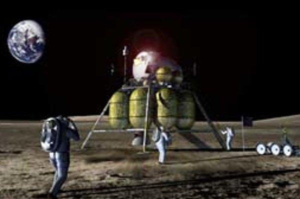Takto by mohla vyzerať budúca misia na Mesiac.