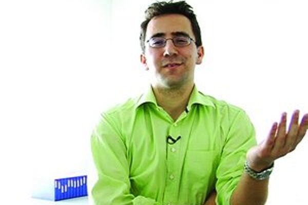 Róbert Meder, riaditeľ MeToo.sk.