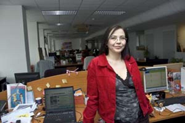 Elena Akácsová, šéfredaktorka Magazínu T-Station.