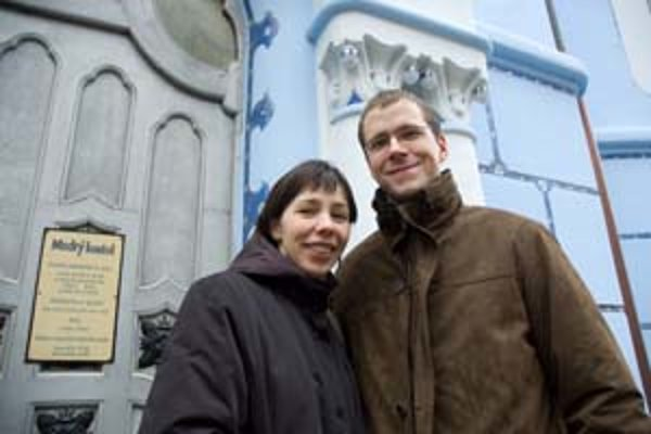 Mária a Róbert Verešovci: Naša svadba bola bez stresu.