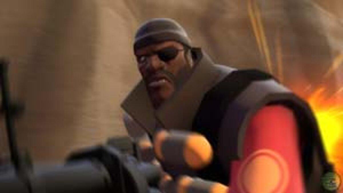 Team Fortress 2 dotvorby pomalé Kozorožec s Vodnár zápas robiť