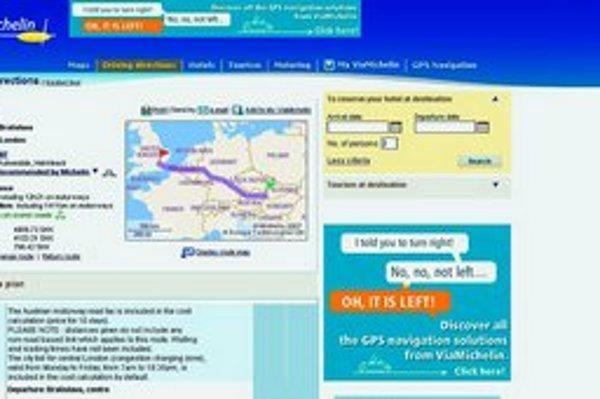 Bežné programy na plánovanie cesty stoja tisíce, na webe ich nájdete zadarmo.