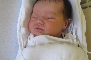 Lotti Szölösiová (53 cm, 3950 g) sa narodila 18. augusta Monike a Róberotvi zo Želiezoviec.