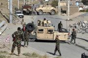 Miesto atentátu v Kábule.
