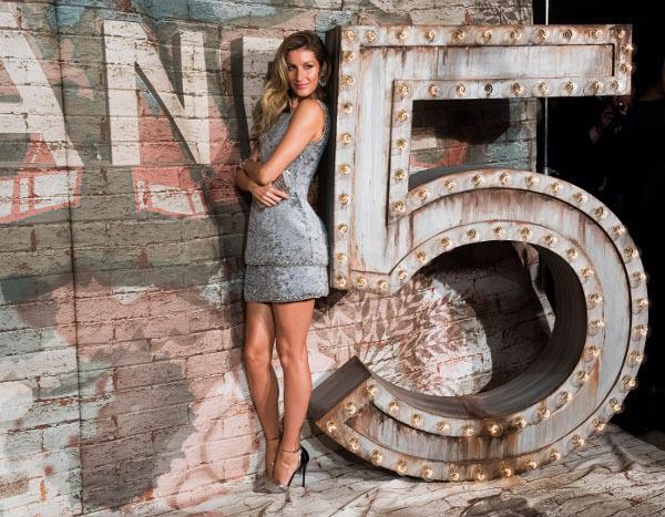 Gisele ako ambasádorka značky Chanel No. 5