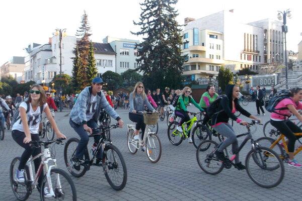Tradičná cyklojazda.