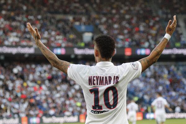 Neymar z Paríž Saint-Germain.