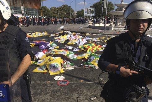 Výbuch v Ankare