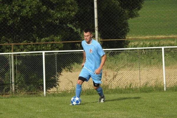 Trojgólový hrdina zápasu Denis Drotár.