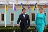 Rokovania so Zelenským aj kladenie kvetov, Čaputová navštívila Kyjev