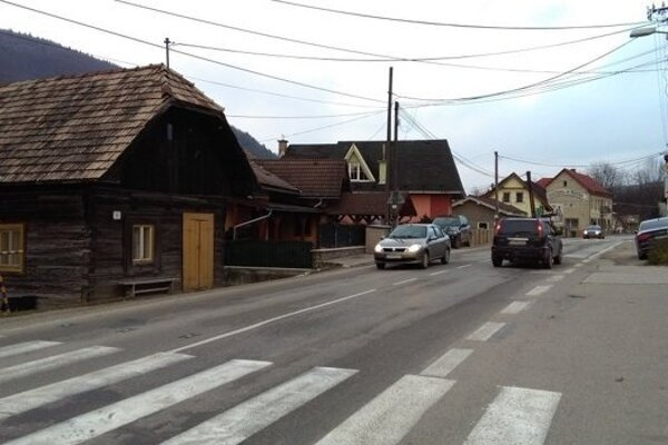 Cesta do Terchovej.