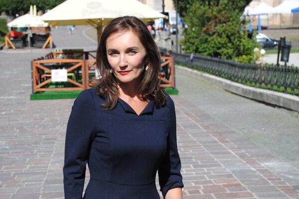 Šéfka Úradu na ochranu osobných údajov Soňa Pőtheová.