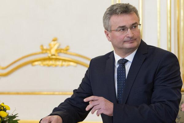 Śéf Ústavného súdu Ivan Fiačan.